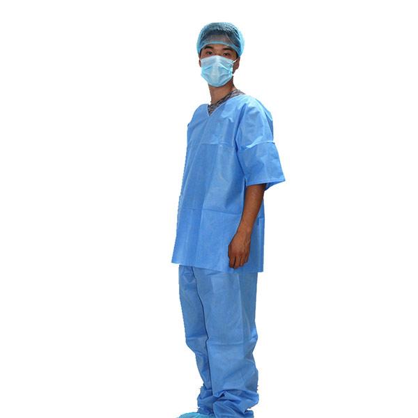 一次性無紡布病人服套裝